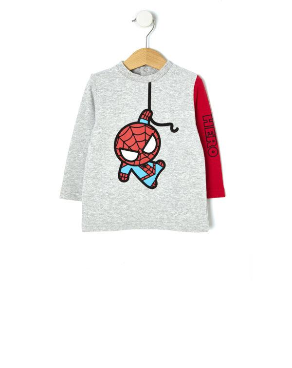 T-shirt manica lunga con stampa Spider-Man baby - Prénatal
