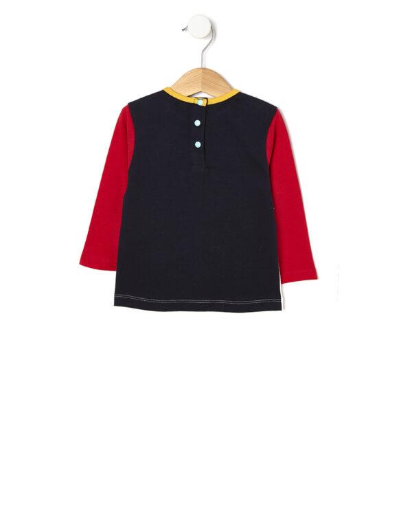 T-shirt manica lunga con maniche taglio raglan - Prénatal