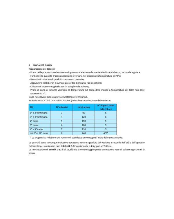 Buona - Latte BBmilk 0/12 mesi Bio polvere 800g - Buona