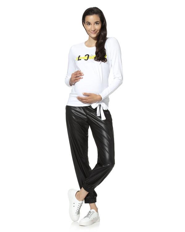 Pantalone premana in ecopelle - Prénatal