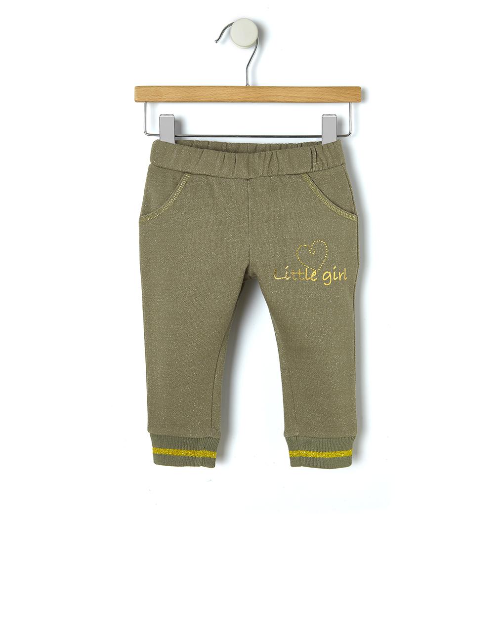 Pantalone in felpa con inserti dorati - Prénatal
