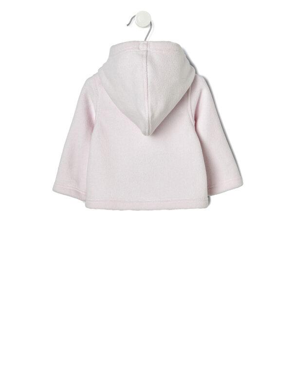 Giubbino rosa con pile interno staccabile - Prénatal