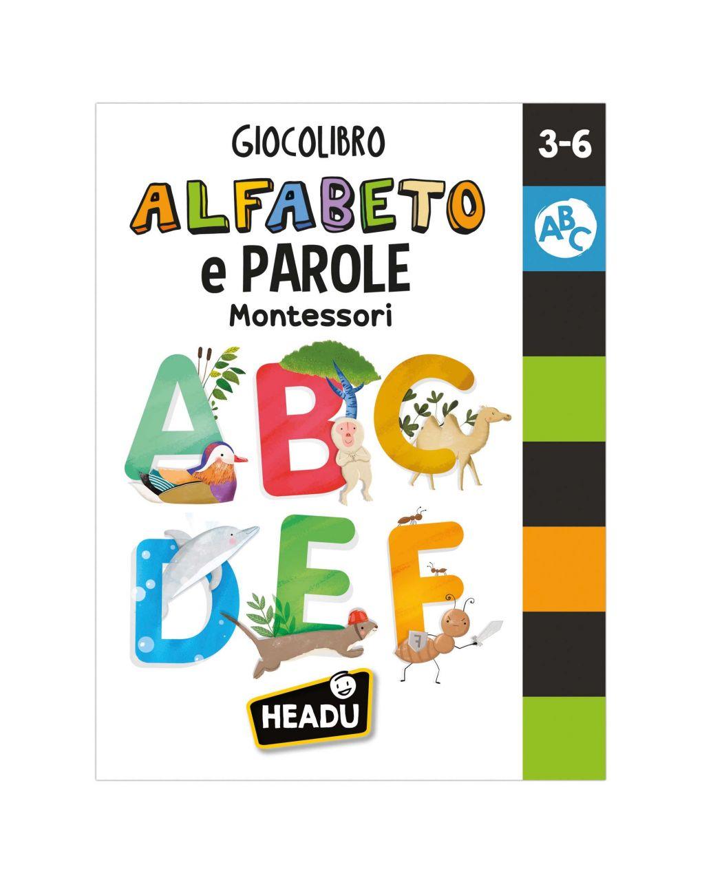 Headu - giocolibro alfabeto e parole montessori - Headu