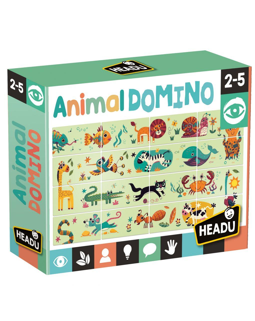 Headu - animal domino - Headu