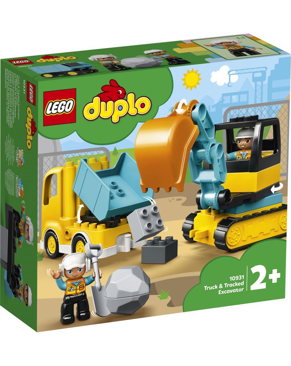 Duplo - camion e escavatore cingolato - 10931 - LEGO Duplo