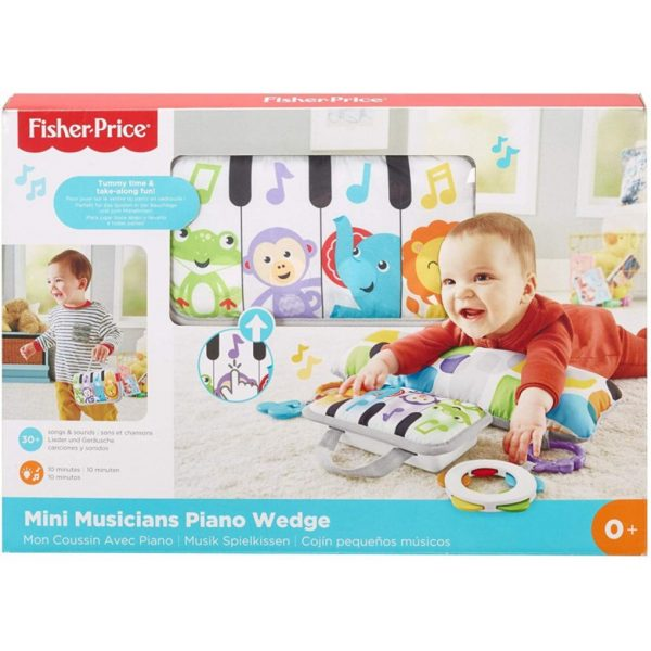 FISHER PRICE - SOFFICE PIANOFORTE DEI PICCOLI MUSICISTI - Mattel