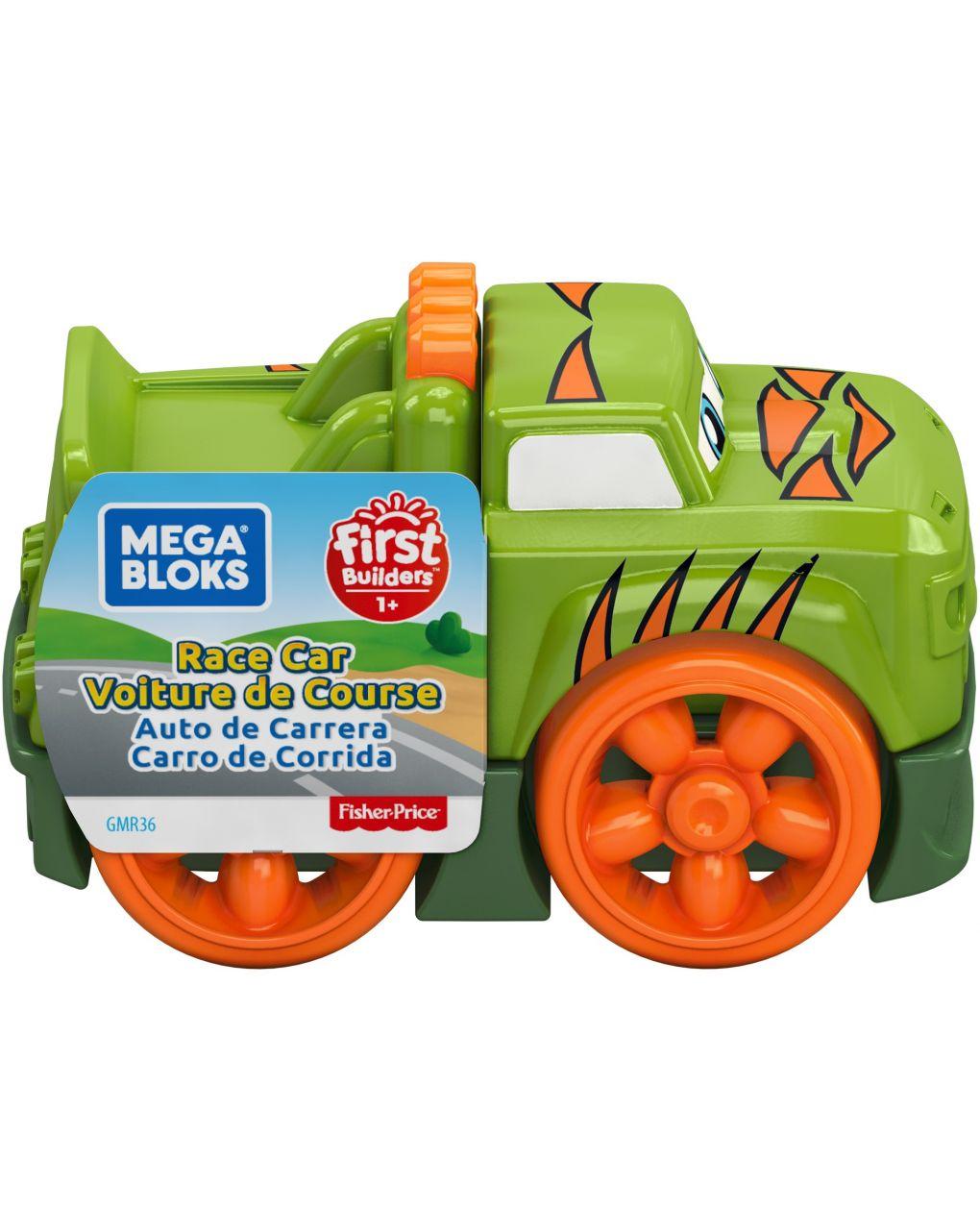 Mega bloks - first racers veicoli assemblabili con 3 blocchi - Mega bloks