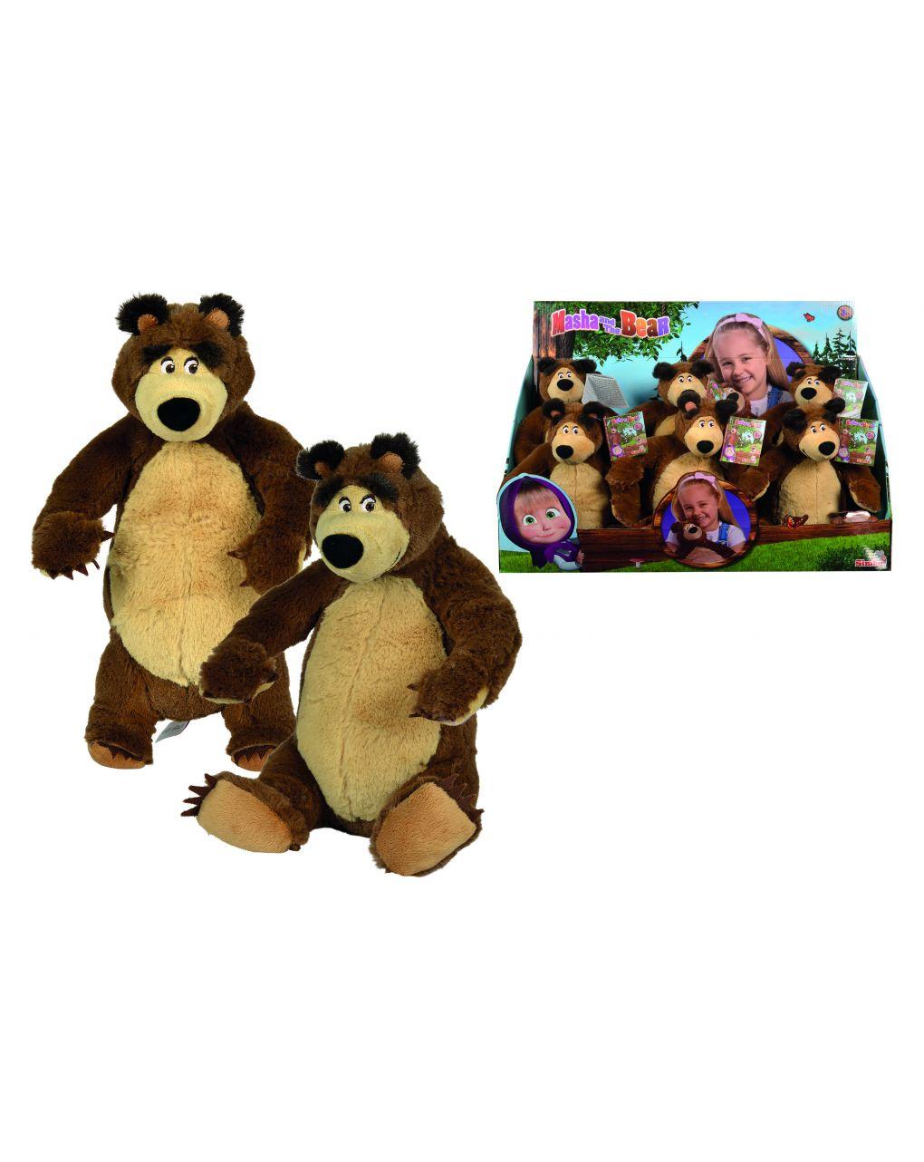 Masha & orso - masha orso peluche cm 25 - Masha & Orso