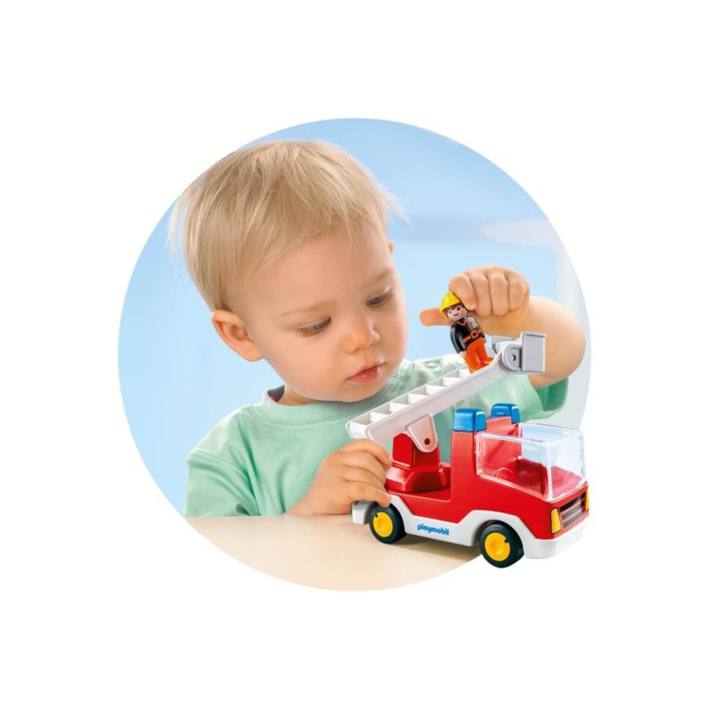 Playmobil - autoscala  pompieri 1.2.3 - Playmobil