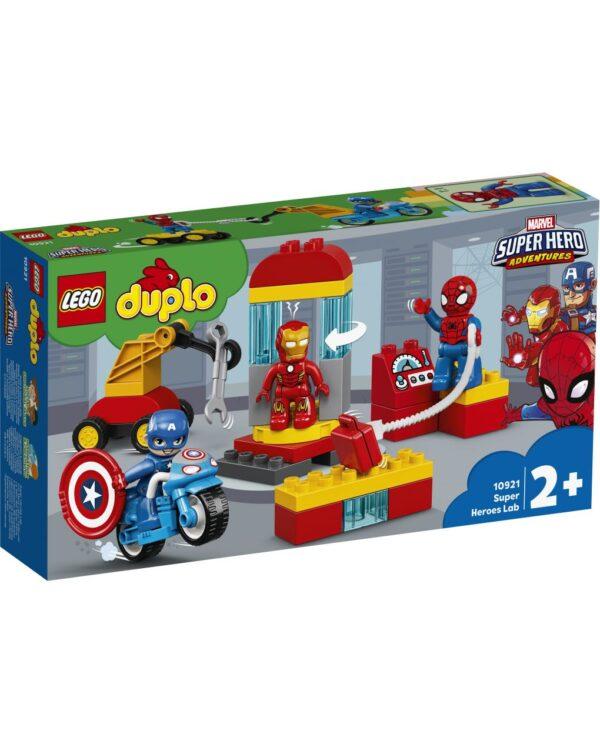 DUPLO - IL LABORATORIO DEI SUPEREROI - Lego