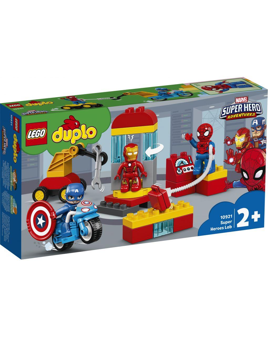 Duplo - il laboratorio dei supereroi - 10921 - LEGO Duplo