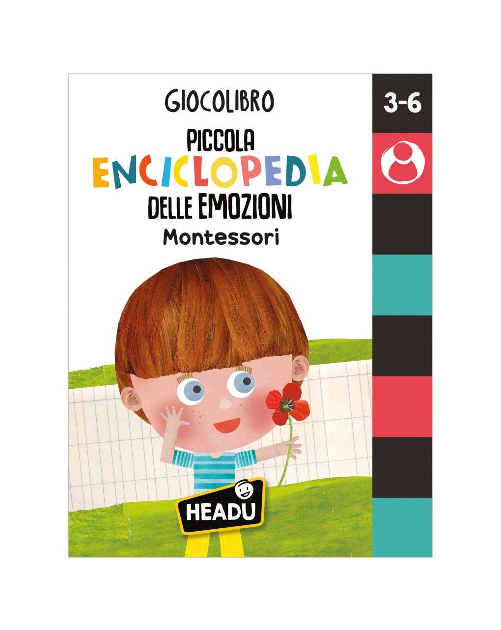 Headu - giocolibro piccola enciclopedia delle emozioni - Headu