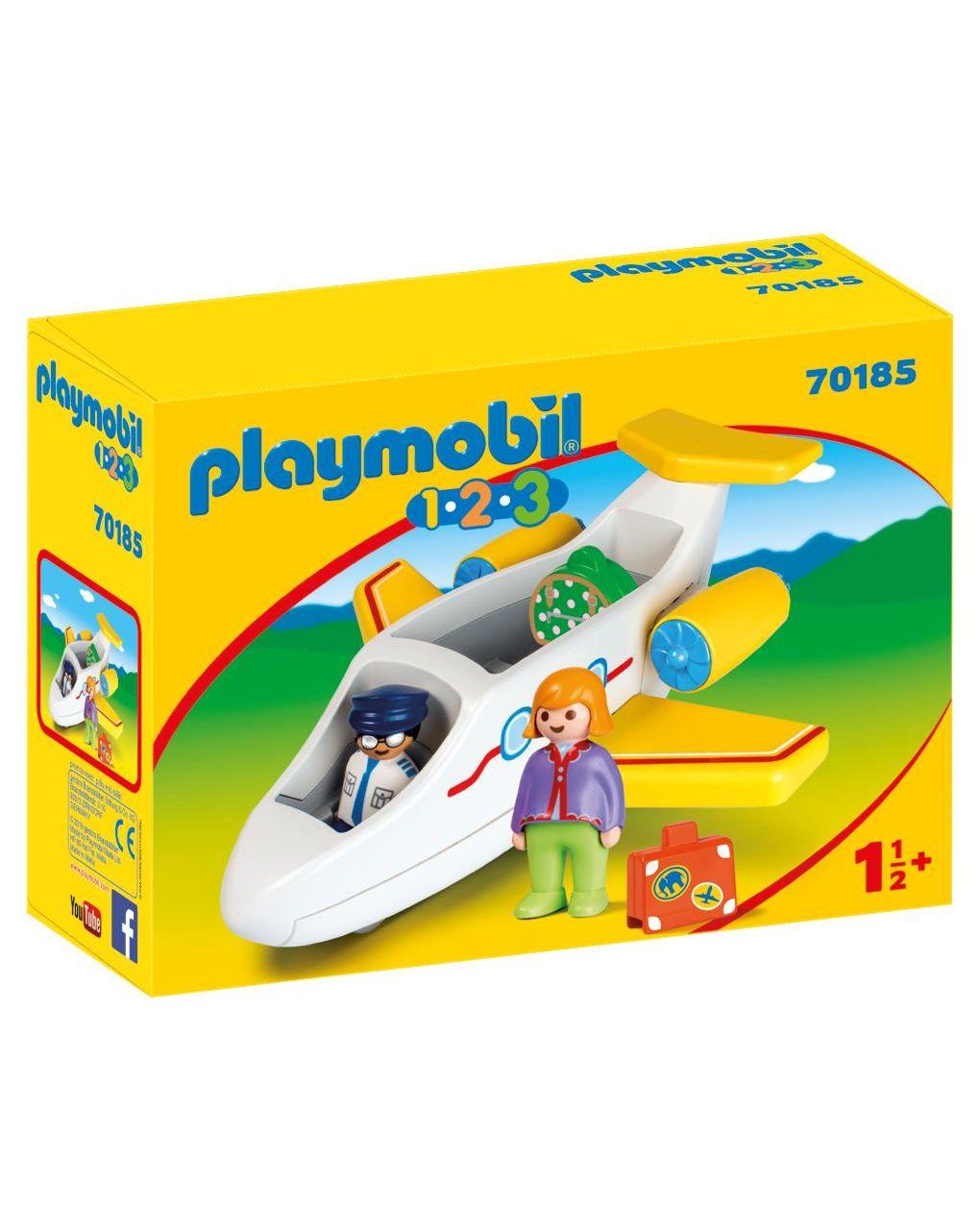 Playmobil - aereo passeggeri 1.2.3 - Playmobil