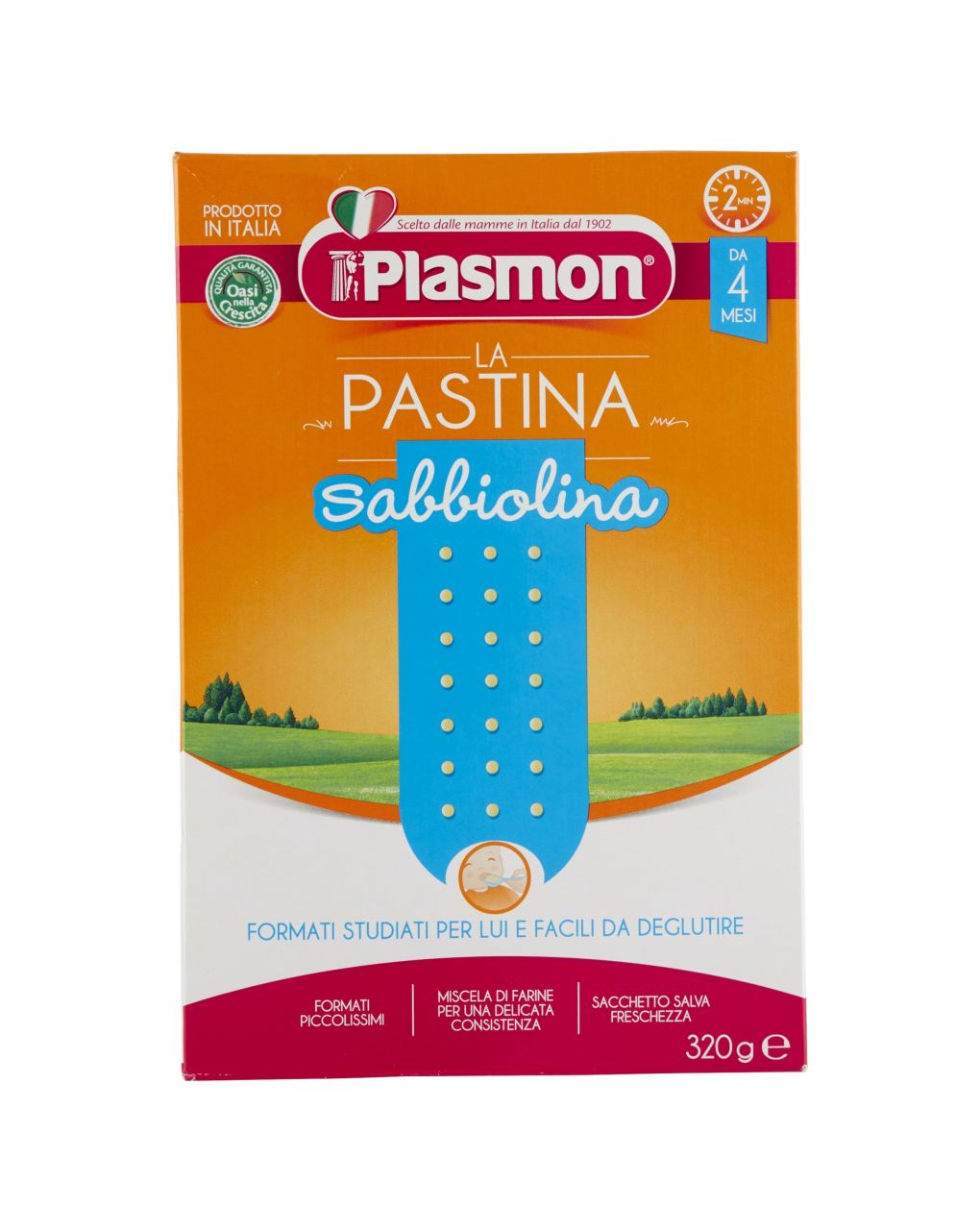 Plasmon - pastina primi mesi sabbiolina 320g - Plasmon