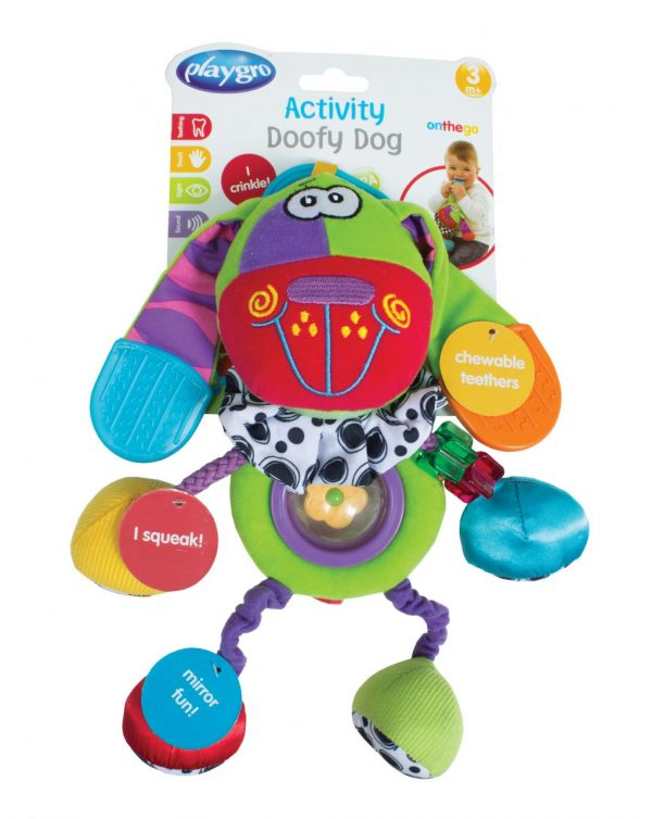 PLAYGRO - ACTIVITY DOOFY DOG - Playgro