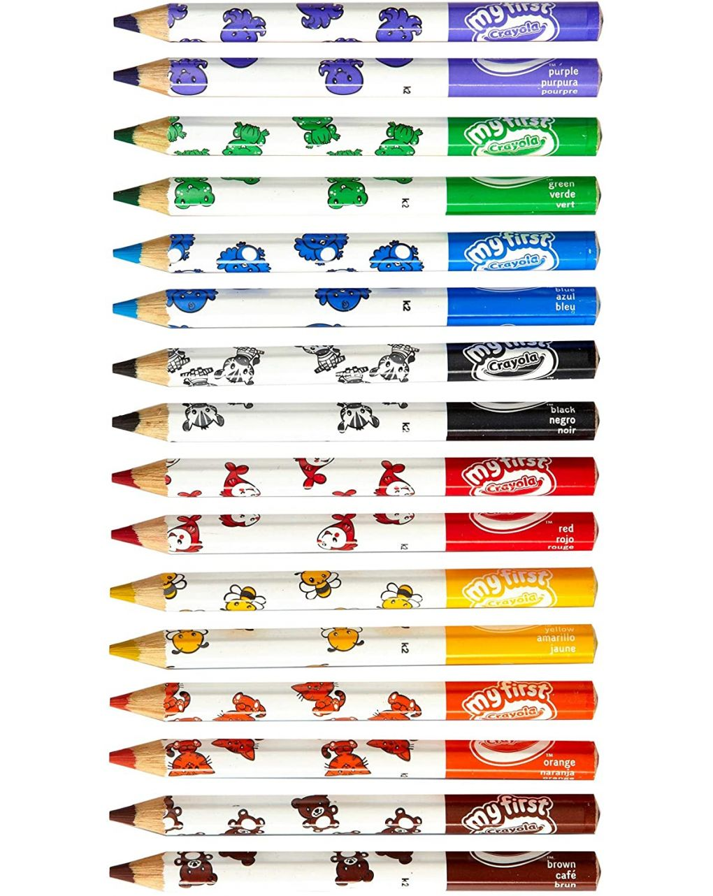 Crayola - 8 maxi matite colorate - Crayola