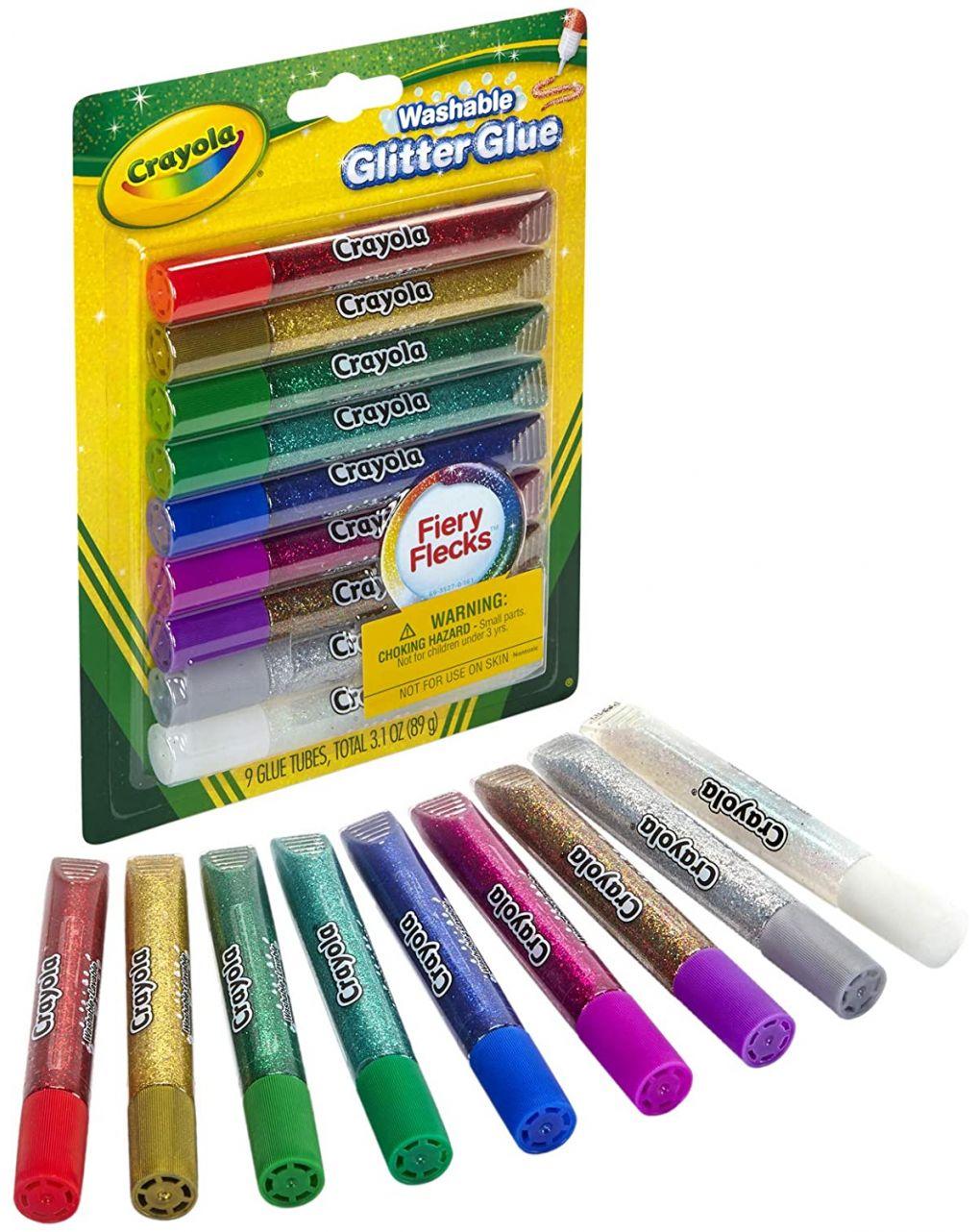 Crayola - 9 colle brillanti - Crayola