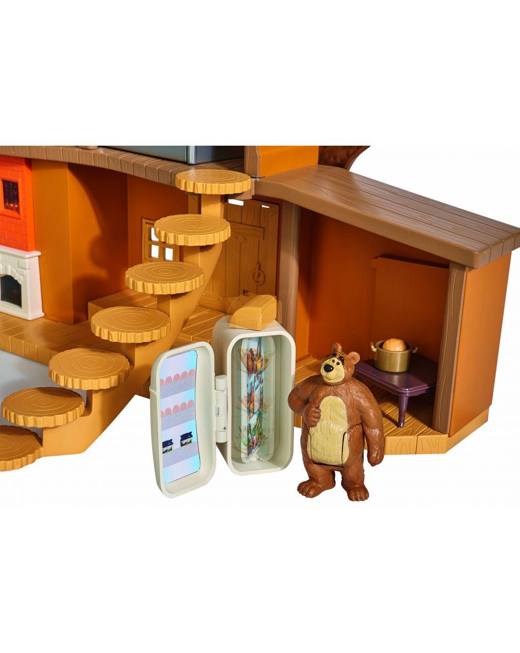 Masha & orso - casa grande di orso con personaggi - Masha & Orso