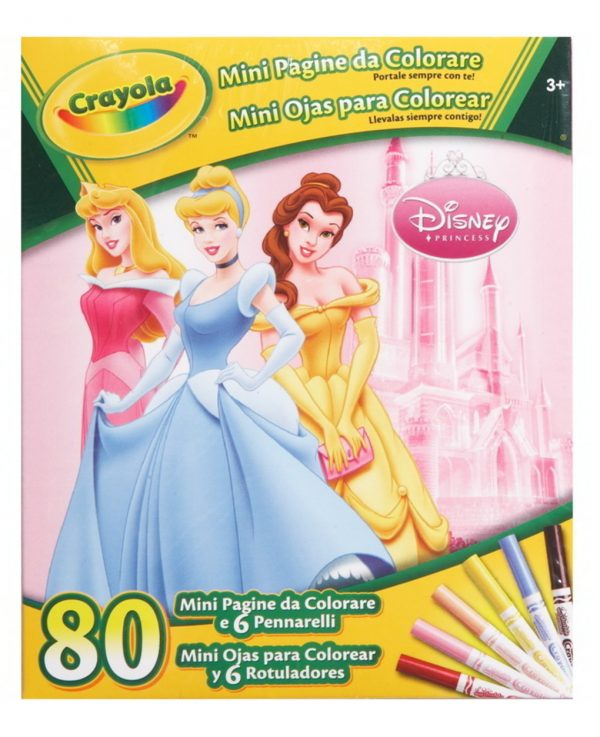 CRAYOLA - DISNEY MINI PAGINE - Crayola