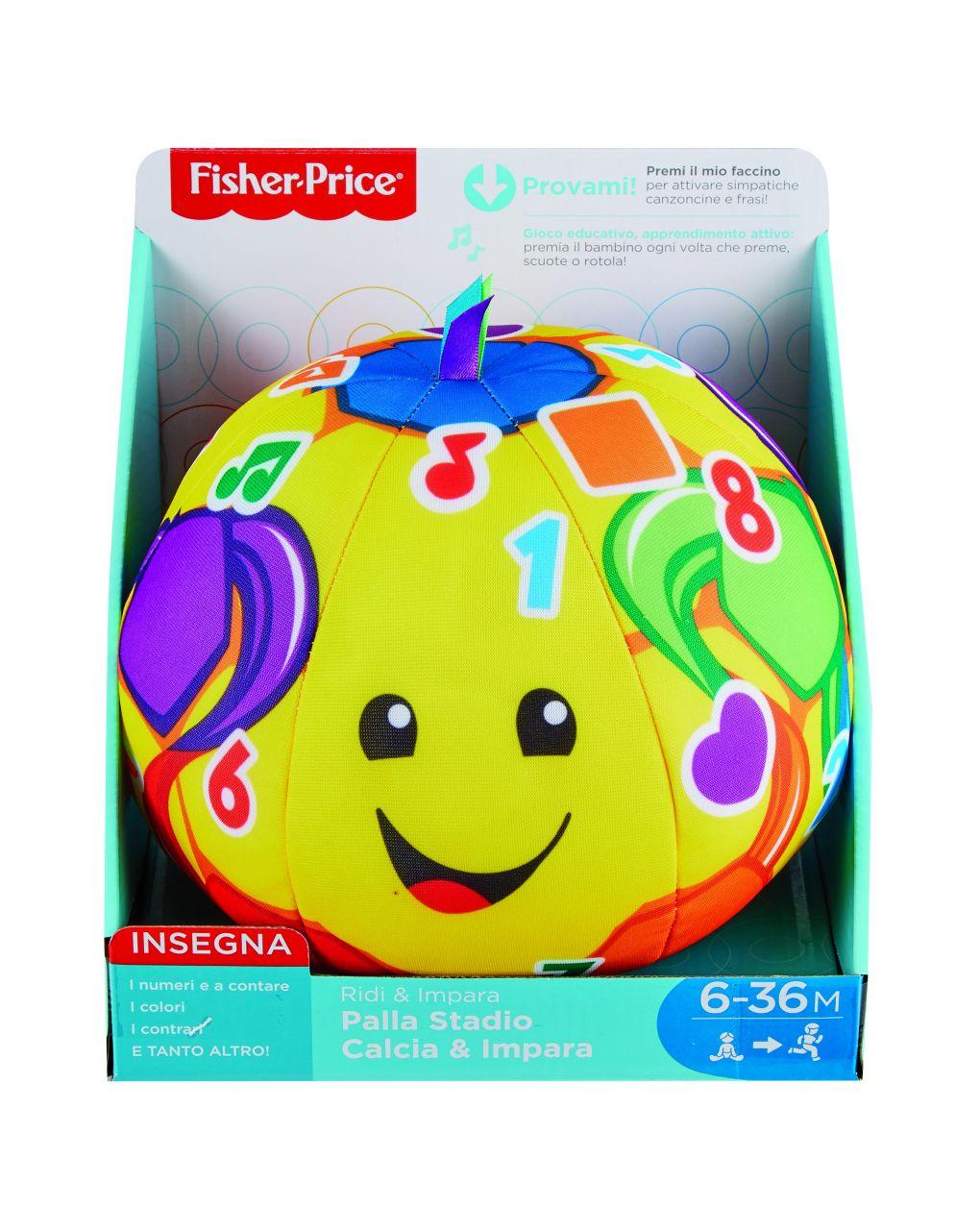 Fisher price - palla stadio calcia e impara - Fisher-Price