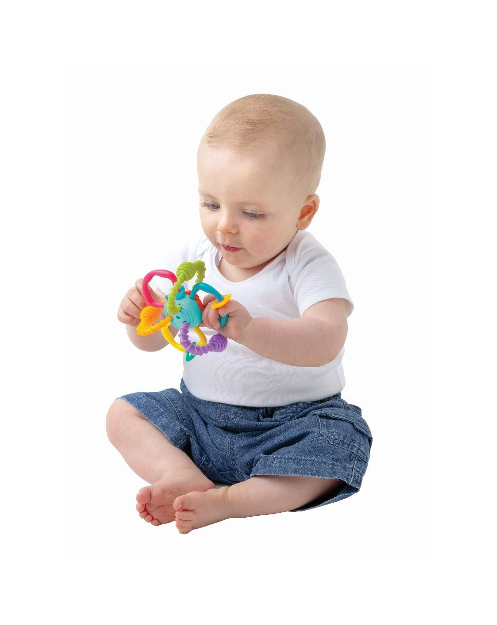 Playgro - bend & twist teething rattle - Playgro