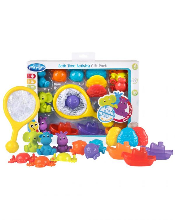 PLAYGRO - BATH TIME ACTIVITY GIFT PACK - FULLY SEALED - Playgro