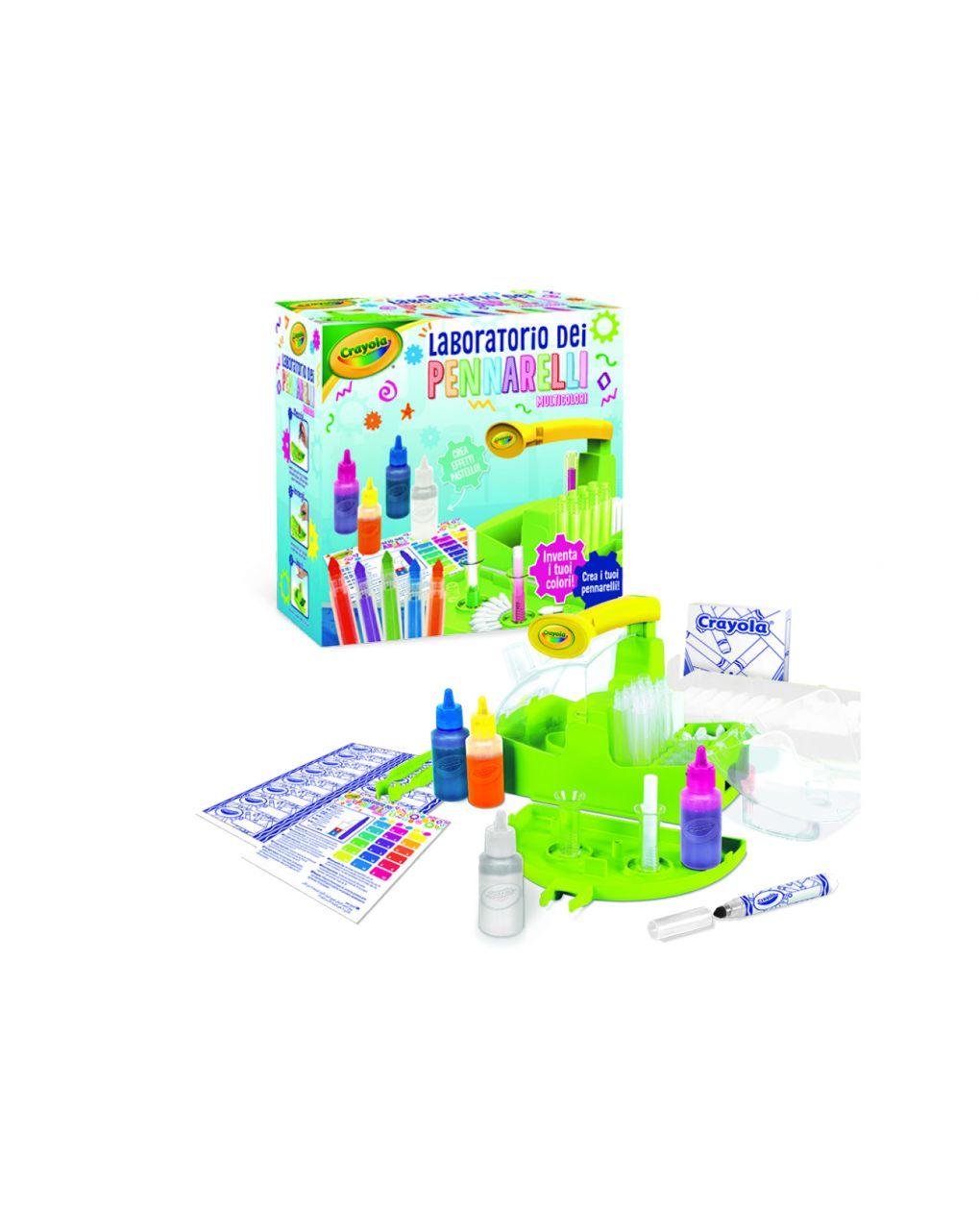 Crayola - laboratorio dei pennarelli multicolore - Crayola