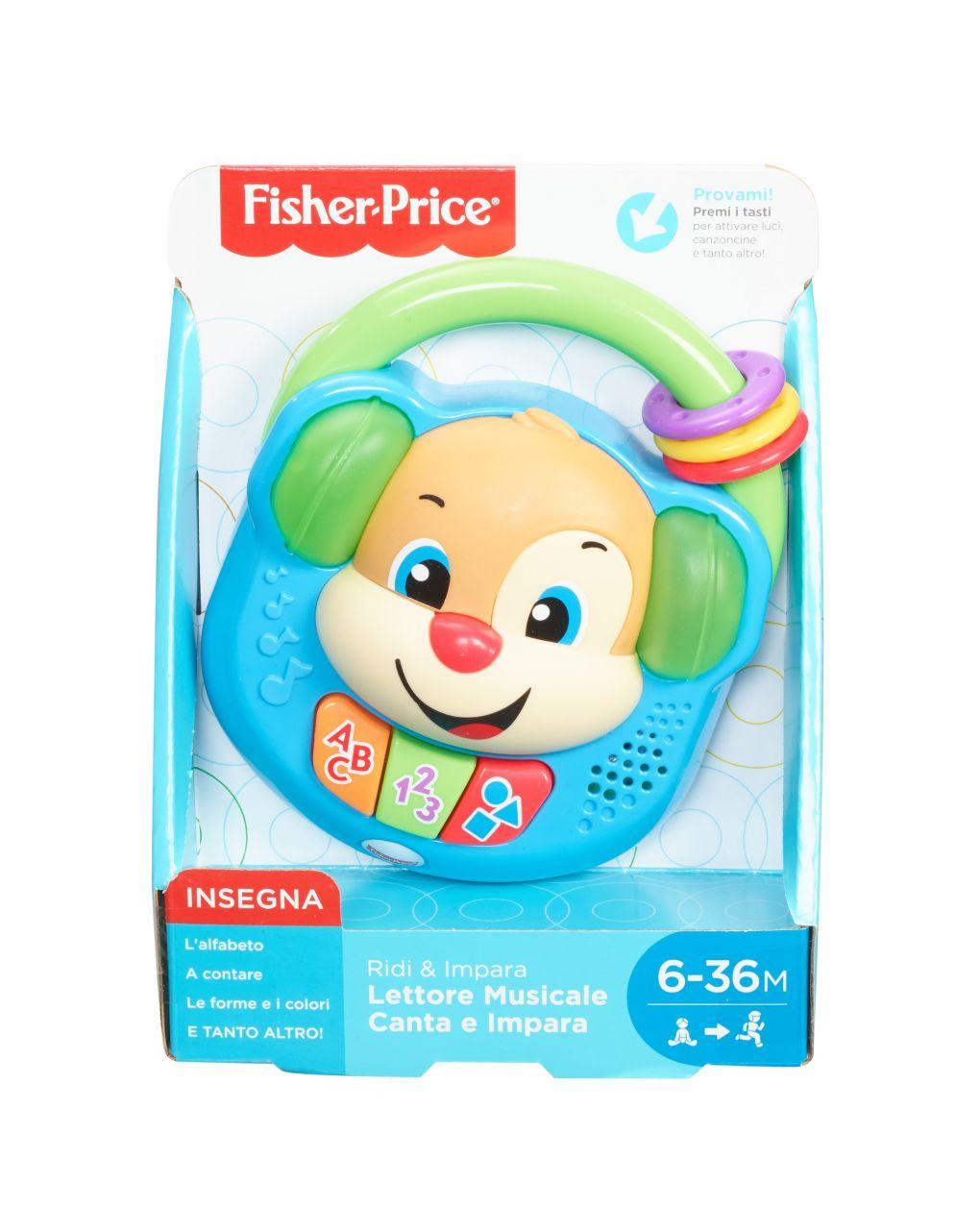 Fisher price - lettore musicale canta & impara - Fisher-Price