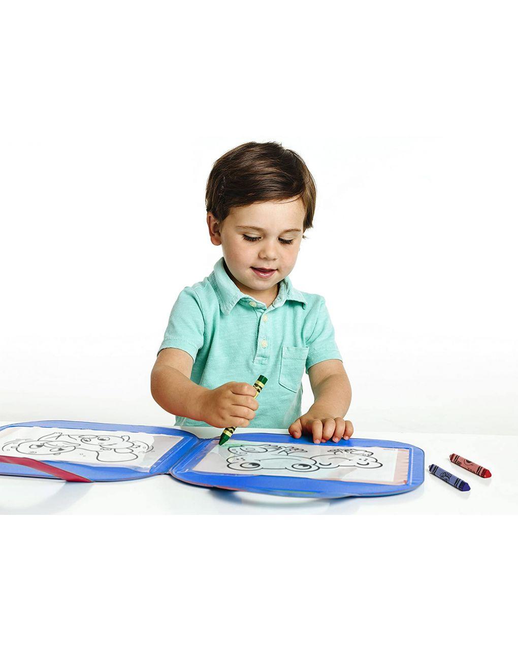 Crayola - tappetino colora & ricolora mini kids - Crayola
