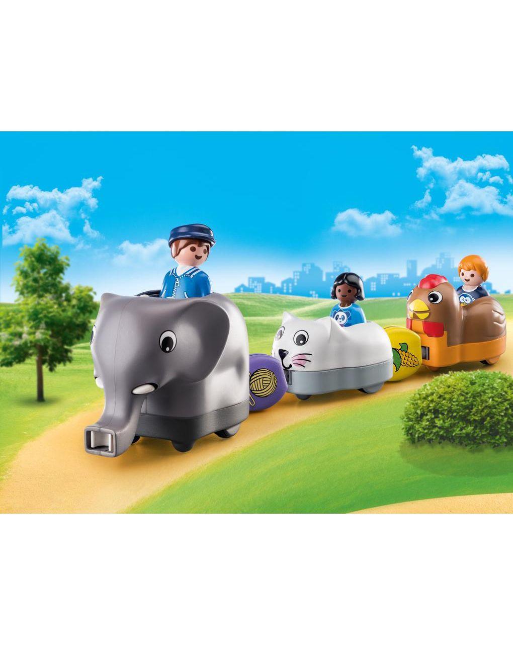Playmobil - trenino degli animali 1.2.3 - Playmobil