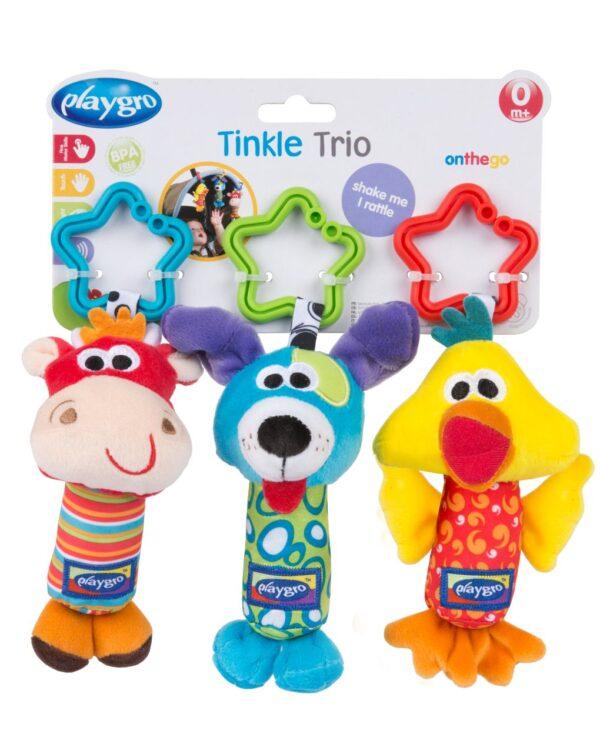 PLAYGRO - TINKLE TRIO - Playgro