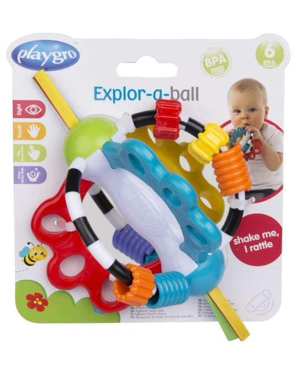 PLAYGRO - EXPLOR-A-BALL - Playgro