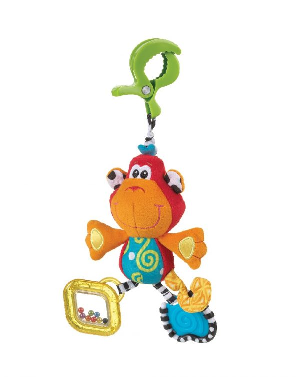 PLAYGRO - DINGLY DANGLY CURLY THE MONKEY - Playgro