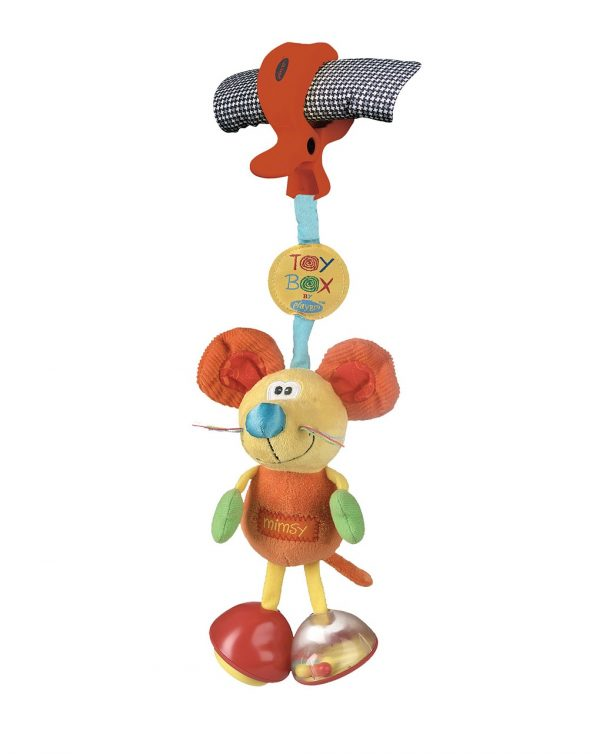 PLAYGRO - TOY BOX DINGLY DANGLY MIMSY - Playgro