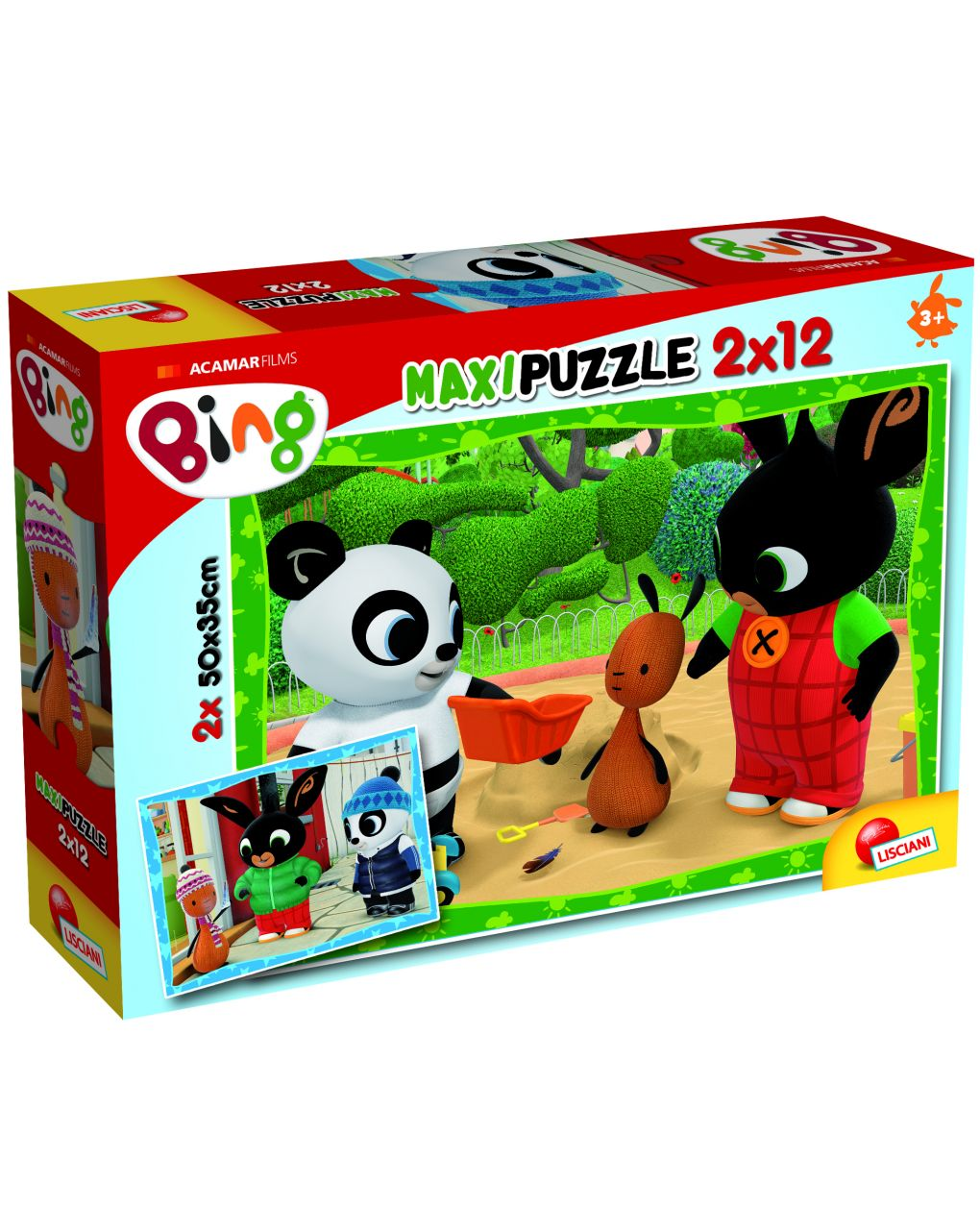 Bing puzzle supermaxi 12x 2  - bing e i suoi amici! - Bing