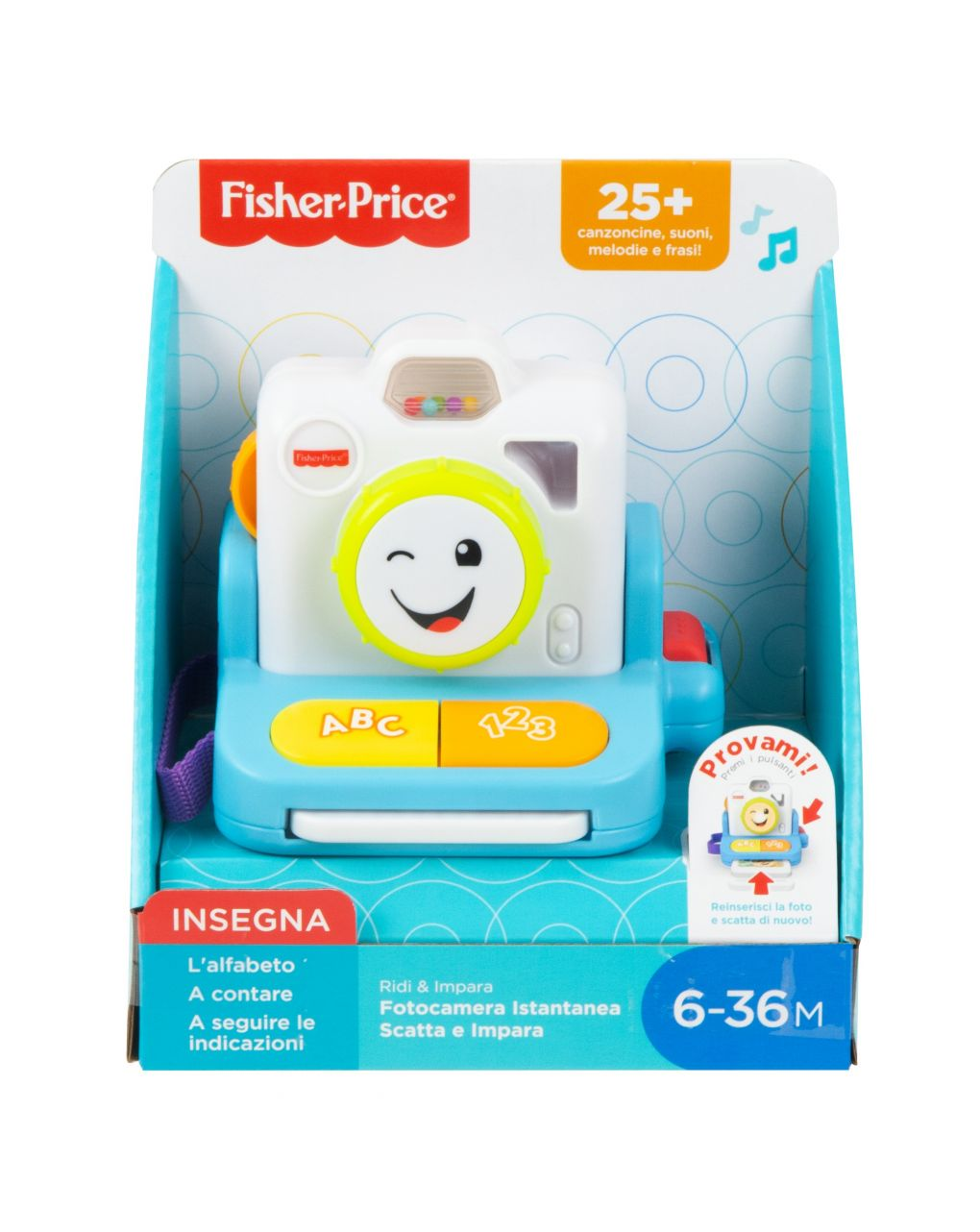 Fisher price - polaroid ridi & impara - Fisher-Price