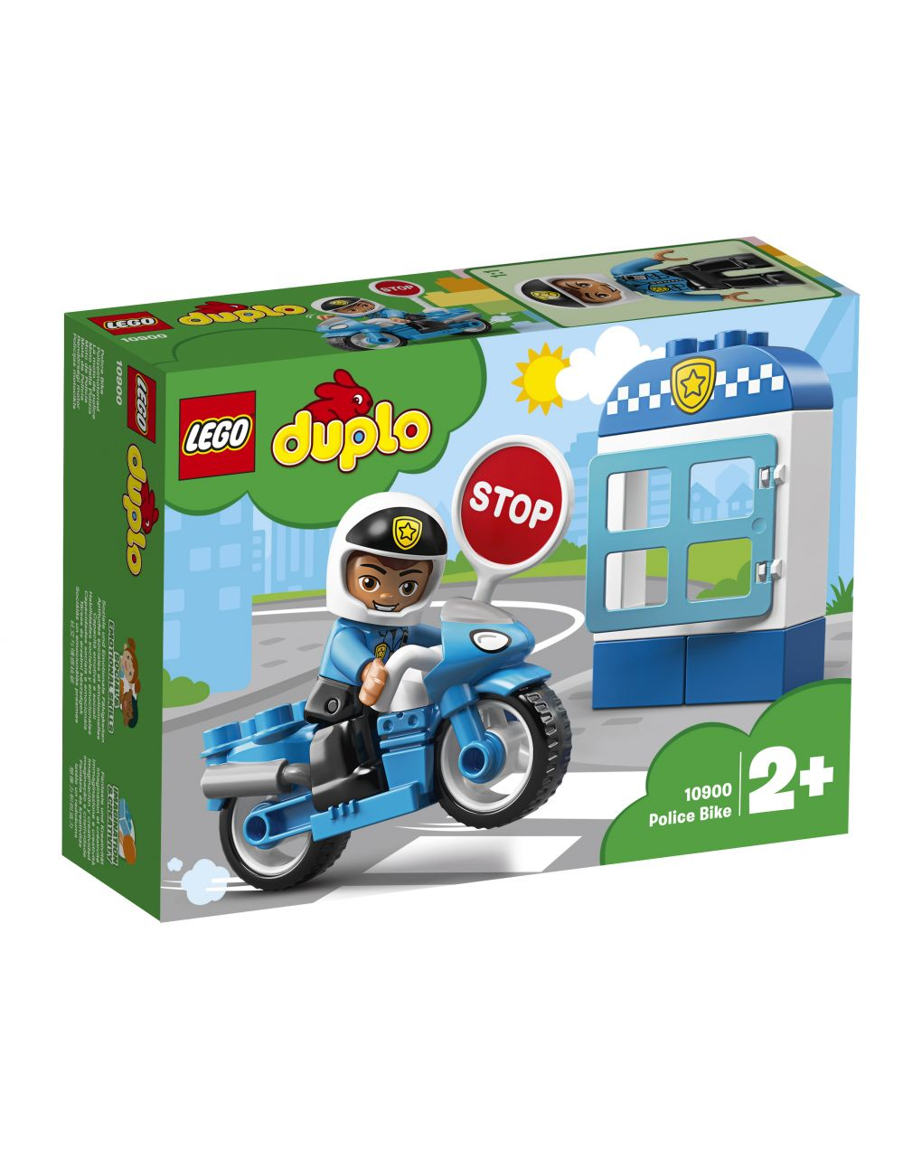 Duplo - moto della polizia - 10900 - LEGO Duplo
