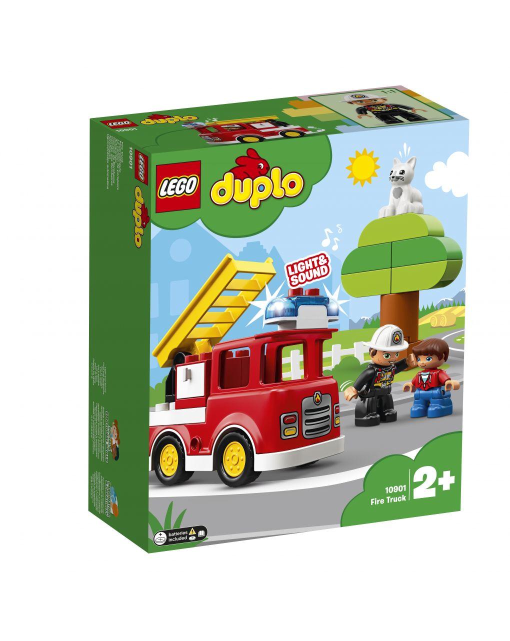 Duplo - autopompa - 10901 - LEGO Duplo