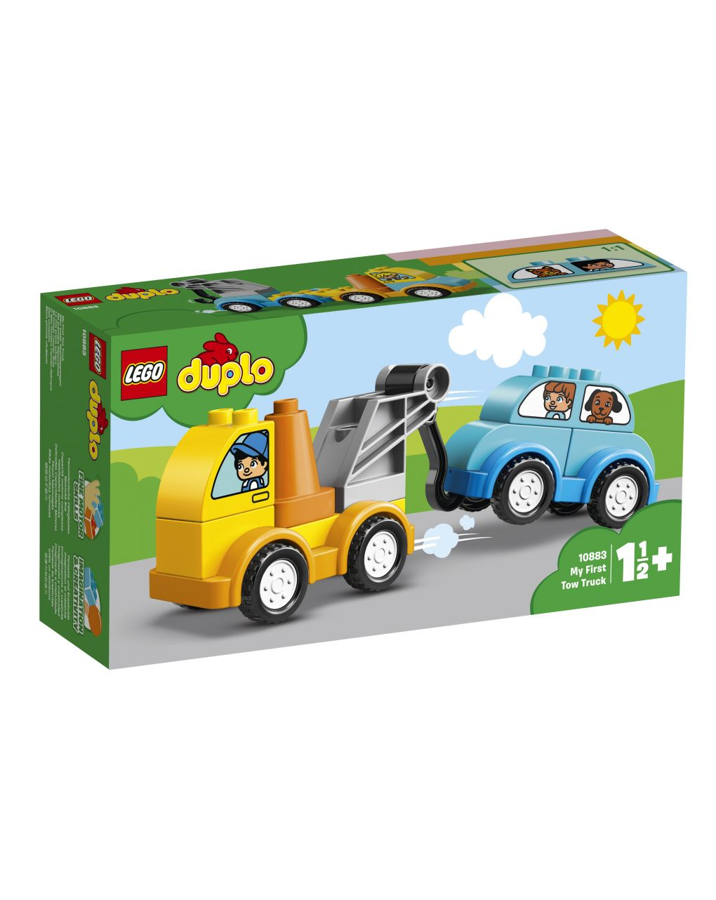 Duplo - la mia prima autogrù - 10883 - LEGO Duplo