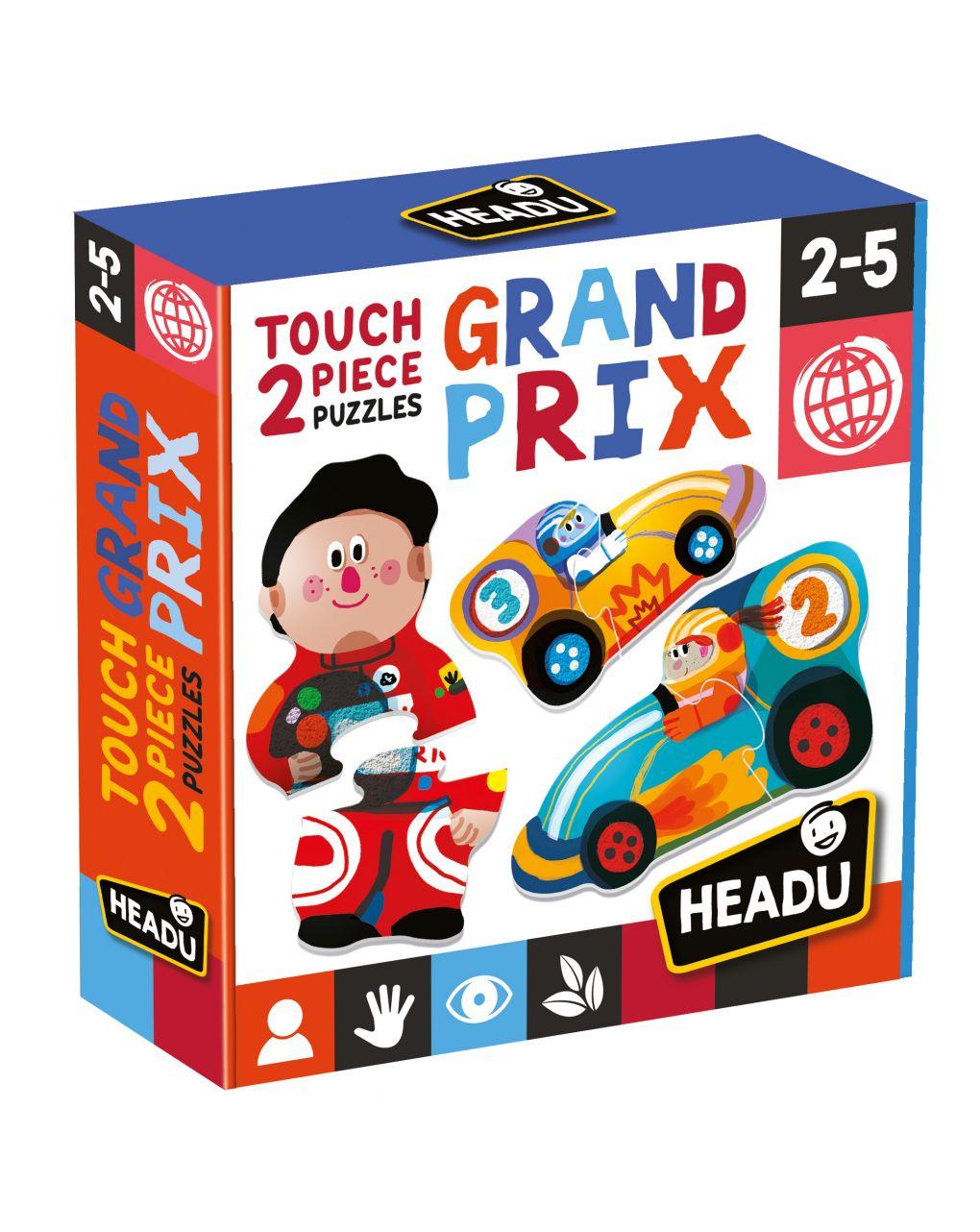 Headu - 2 pieces touch  puzzle grand prix - Headu