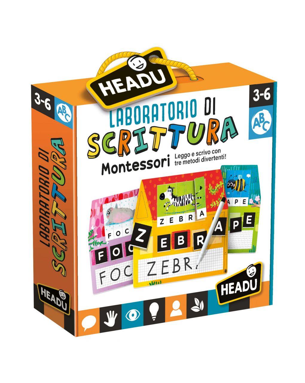 Headu - laboratorio di scrittura montessori - Headu