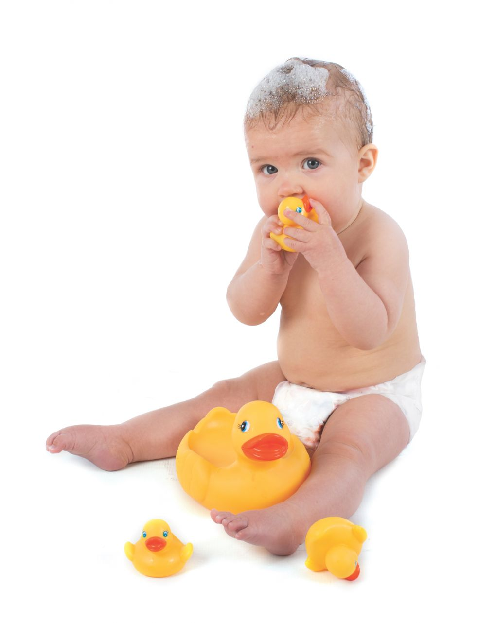Playgro - bath duckie family - fully sealed - Playgro