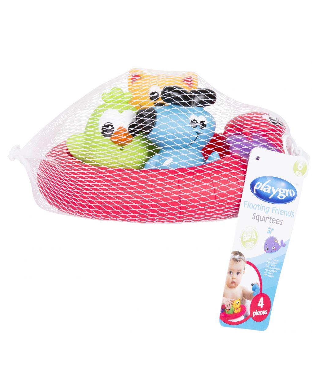 Playgro - splash and float friends - fully sealed - Playgro
