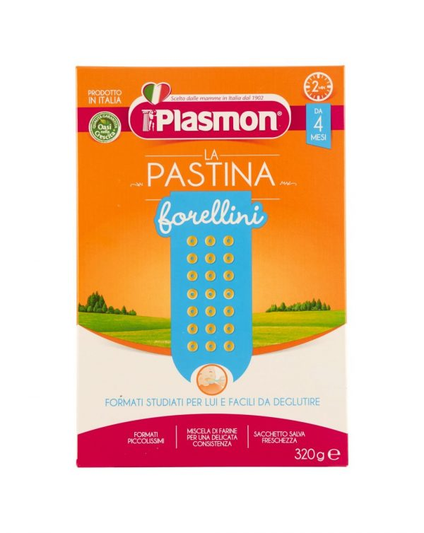 Plasmon - Pastina primi mesi forellini 320g - Plasmon