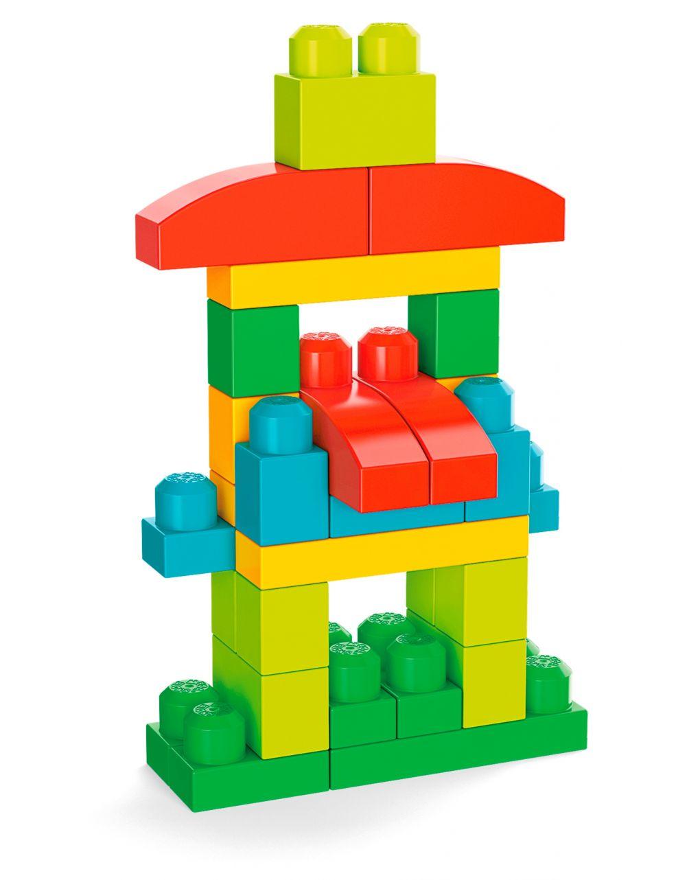 Mega bloks - 100 blocchi da costruzione - Mega bloks