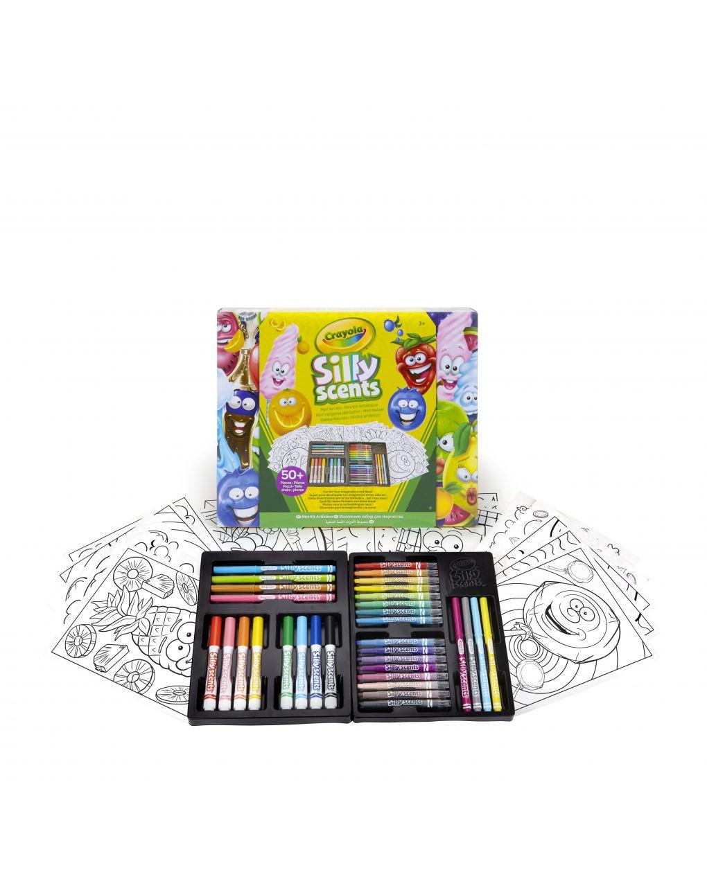 Crayola - mini valigetta i profumelli - Crayola