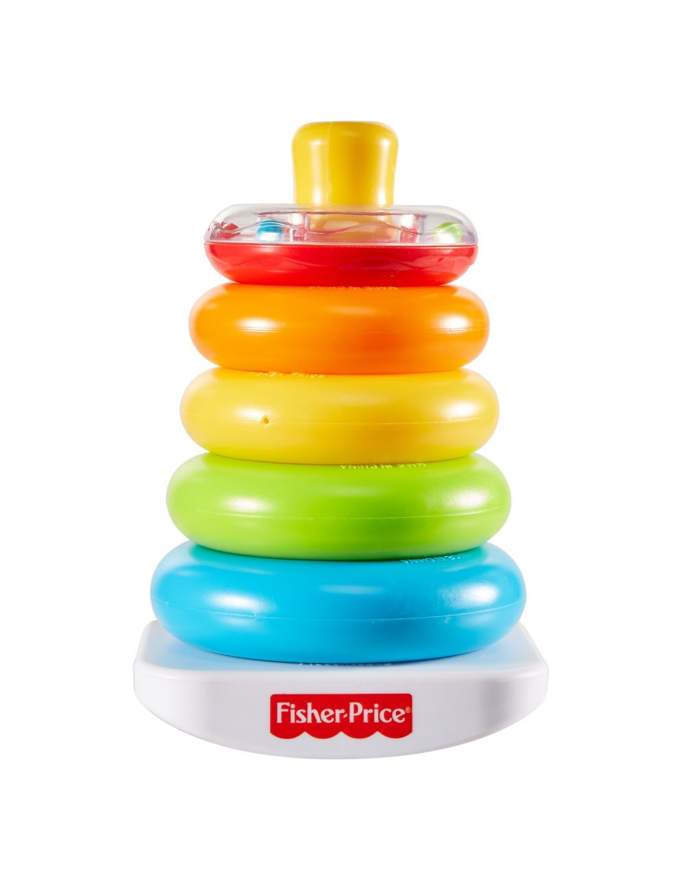 Fisher price - piramide 5 anelli - Fisher-Price