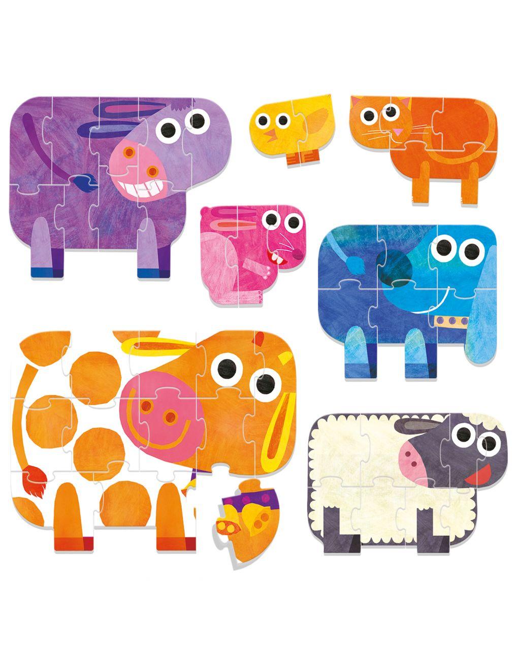 Headu - play farm progressive puzzle - Headu