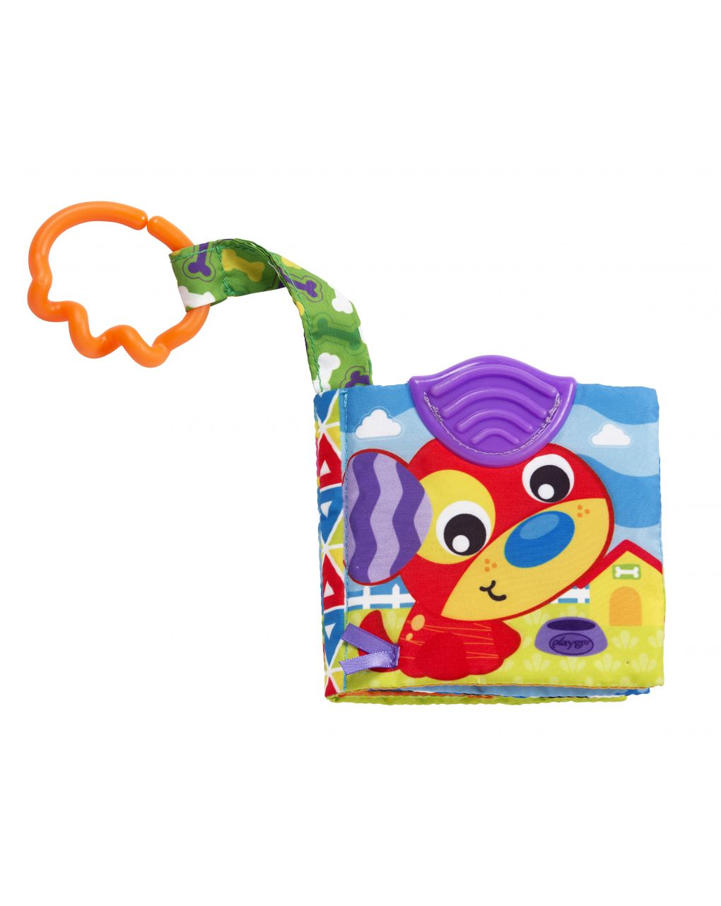 Playgro - a day at the farm teether book - Playgro
