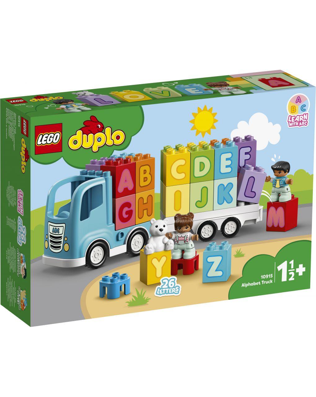 Duplo - camion dell'alfabeto - 10915 - LEGO Duplo